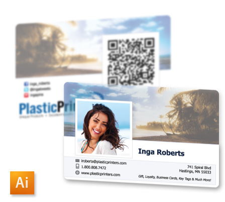10 free business card design templates of 2014 facebook profile style business card template fbccfo Images